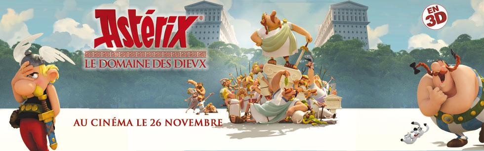 Ast�rix - Le Domaine des Dieux, le film
