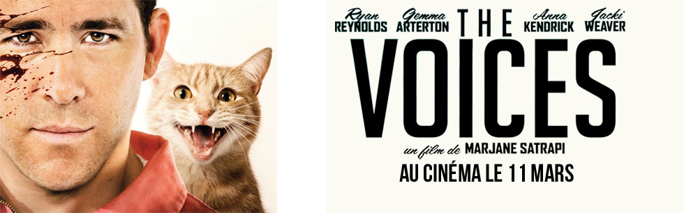 The Voices, le film