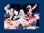 Fonds d'écran du film Alice au pays des merveilles