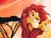 Fonds d'écran du film Le Roi Lion