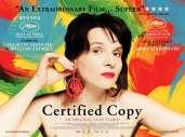 Fonds d'écran du film Copie conforme
