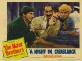 Fonds d'écran du film Une nuit à Casablanca
