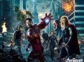 Fonds d'écran du film Avengers