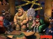 Fonds d'écran du film La véritable histoire du petit chaperon rouge