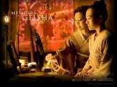 Fonds d'écran du film Mémoires d'une geisha