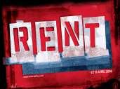 Fonds d'écran du film Rent