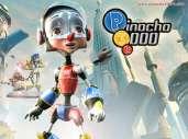Fonds d'écran du film Pinocchio le robot