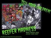 Fonds d'écran du film Reefer madness